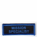 Mission Specialist Patch