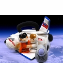 My Space Shuttle Plush Playset with sounds!