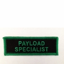 Payload Specialist Patch