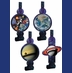 Space Blast Blowouts w/ Medallions  (Pack of 8)