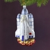 Space Shuttle Ornament with Rocket Boosters