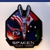 SpaceX Falcon 9 Cassiope Mission Patch