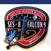 SpaceX Falcon 9 SES-8 Mission Patch