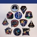 SpaceX Mission Patch Set - includes all 12 patches