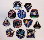 SpaceX Mission Patches