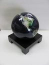 Square black wood base for MOVA Globe