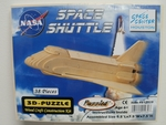 38pc. 3-D Wooden Shuttle Puzzle