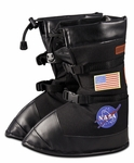 Astronaut Space Boots Black