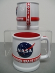 """NEW"" Vect JSC Red & White Mug"