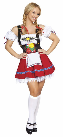 3 Piece Fraulein Sweetheart Costume