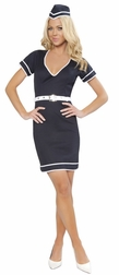 3PC Flight Attendant Costume