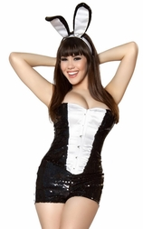 3PC Playful Bunny Costume
