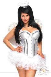 4 PC Sweet Angel Costume