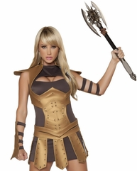 Warrior Babe Sexy 5 PC Costume