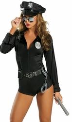 7 PC Lady Cop Costume
