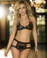 All For You Bow Bra Set