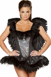Alluring Black Swan Sexy 2 PC Costume