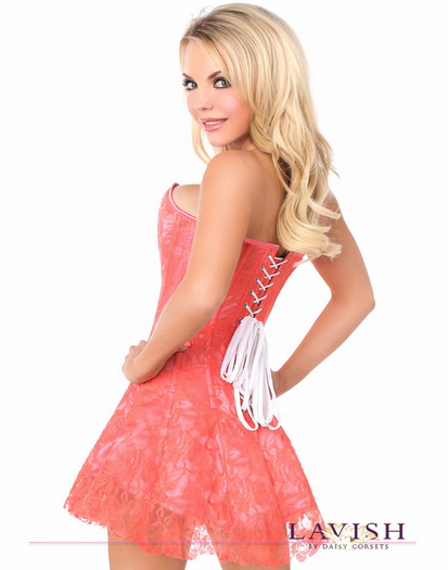 Always Yours Sexy Corset Dress