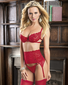 Anything For You Lace Bra & Garter Set