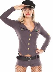 Army General Sexy 5 PC Costume