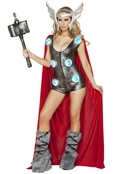 Asgardian Queen Sexy 3 PC Costume