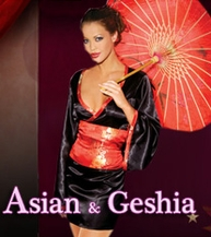 Asian & Geshia Costumes
