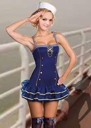 Ay Ay Captain 2 PC Sailor Costume