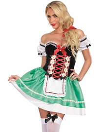 Bavarian Beauty Beer Girl Costume