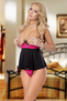 Bedroom Diva Cupless Babydoll & Thong Set