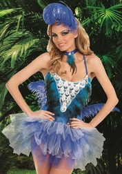 Blue Bird Beauty Sexy Costume