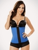 Blue Waist Trainer Latex Corset