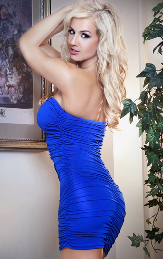 Bootylicious Sexy Blue Dress