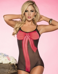 Bow Babe Delight Sexy Teddy