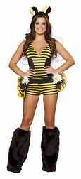 Bumble Bee Babe Sexy 3 PC Costume