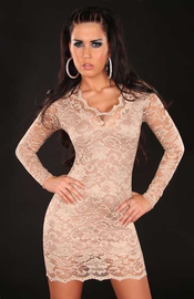 Call Me Tonight Mocha Mini Dress