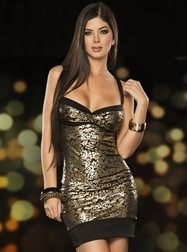 Catwalk Vixen Sexy Mini Dress