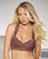 Chocolate Brown Lace Bralette Top
