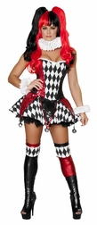 Court Jester Cutie 3 PC Costume