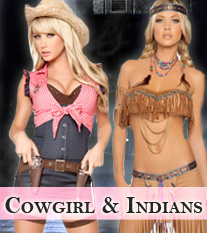 Cowgirl & Indian Costumes