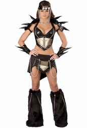 Dark Warrior Sexy 3 PC Costume