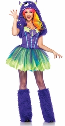 Darling Purple Posh Monster Costume