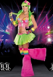 Dazed Sexy Rave Costume