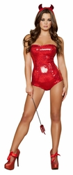 Devilish Delight Sexy 3 PC Costume