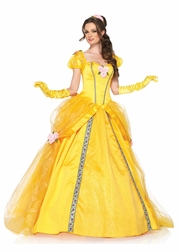 Disney Deluxe Belle Sexy 5 PC Costume