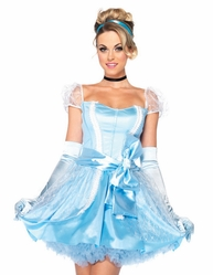 Disney Glass Slipper Cinderella Sexy Costume