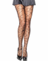 Distressed Net Pantyhose