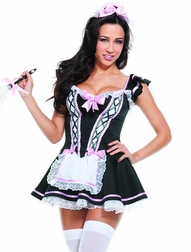 Doing More Than Just Clean Sexy 3 PC Maid Costume