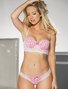 Dream Angel Lace & Polka Dot Push Up Bra