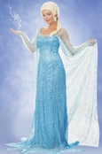 Elsa Magic Queen Cosplay Costume