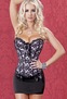 Emma's Secret Night Out Corset and Skirt Set